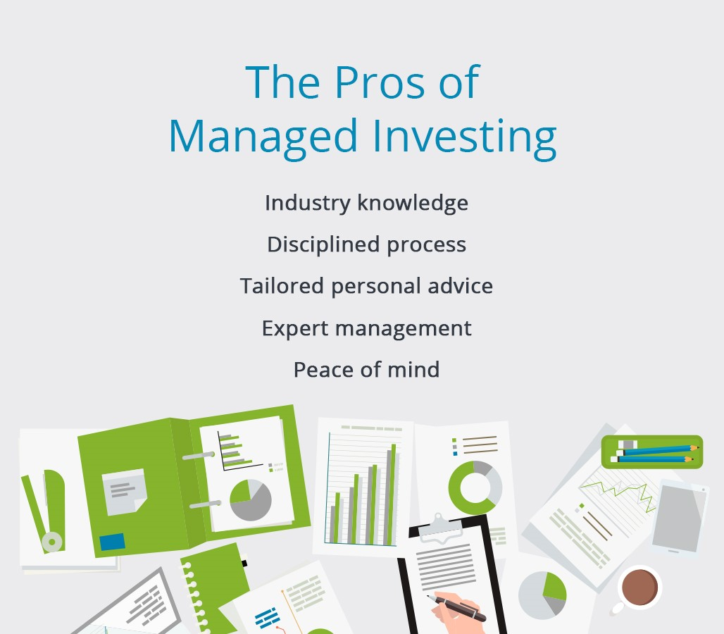 the pros of managed investing